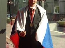 Peter Kosec po získaní zlatej medaily