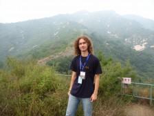 Peťo na Čínskom múre