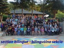 bilingválna sekcia