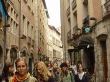 u uliciach Grenoblu