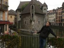 Lukáš v Annecy