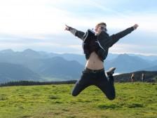 život je krásny a Mont Blanc tiež