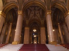 a parlament z vnútra