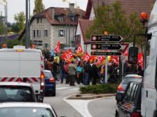 štrajk - manifestácia