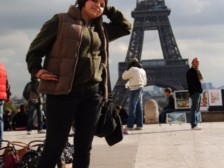 Monika pri Eiffelovke