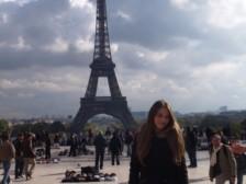 Liliana a Eiffelovka